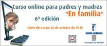 Banner del Curso online para padres